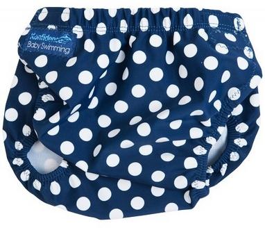 Трусики для плавания Konfidence Aquanappies Navy Polka Dot