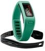 Браслет спортивный с датчиком частоты биения сердца Vivofit Green HRM Bundle - фото 1