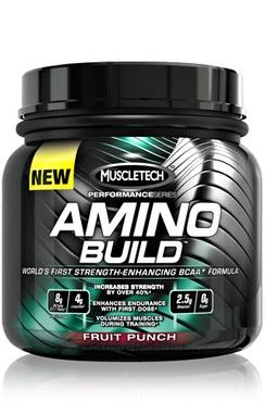 Аминокомплекс MuscleTech Amino Build, Performance Series (445 г)