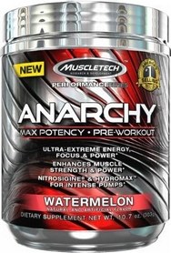 Фото 1 к товару Энергетик MuscleTech Anarchy Yohimbe (303 г)