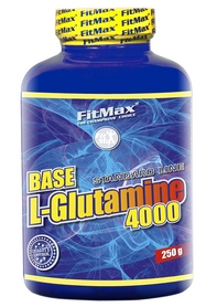 Фото 1 к товару Аминокомплекс FitMax Base L-Glutamine (250 г)