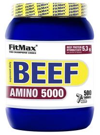 Фото 1 к товару Аминокомплекс FitMax Beef Amino 5000 (500 таблеток)