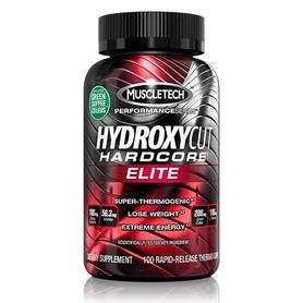 Фото 1 к товару Жиросжигатель MuscleTech Hydroxycut Hardcore Elite Yohimbe (100 капсул)