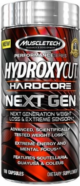 Жиросжигатель MuscleTech Hydroxycut Hardcore Next Gen (100 капсул)