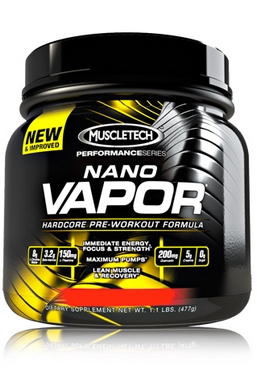 Энергетик MuscleTech Nano Vapor Performance Series (770 г)