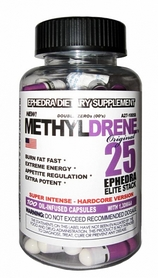 Жиросжигатель Cloma Pharma Methyldrene Elite 25 (100 капсул)