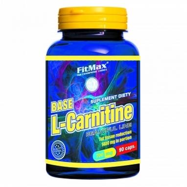 Жиросжигатель FitMax Base L-Carnitine (90 капсул)