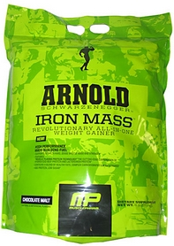 Фото 1 к товару Гейнер Arnold Series Iron Mass (667 г)