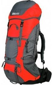 Рюкзак туристический Terra Incognita Titan 60 л красный/серый