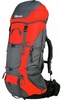 Рюкзак туристический Terra Incognita Titan 60 л красный/серый - фото 1