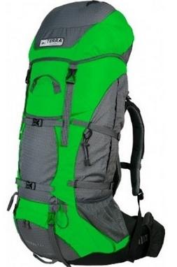 Рюкзак туристический Terra Incognita Titan 80 л зеленый/серый