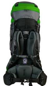 Фото 2 к товару Рюкзак туристический Terra Incognita Titan 80 л зеленый/серый