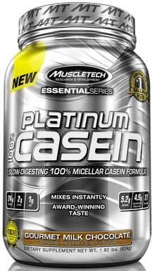 Протеин Muscletech Essential 100% Casein (830 г)