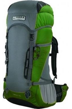 Рюкзак туристический Terra Incognita Impuls 40 л зеленый/серый