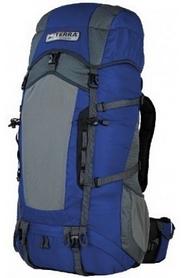 Фото 1 к товару Рюкзак туристический Terra Incognita Action 45 л синий/серый