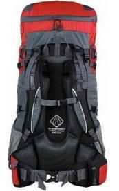 Фото 2 к товару Рюкзак туристический Terra Incognita Action 45 л красный/серый