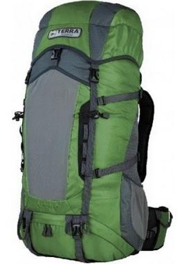 Рюкзак туристический Terra Incognita Action 45 л зеленый/серый