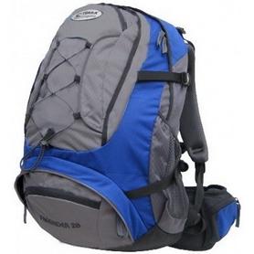 Рюкзак спортивный Terra Incognita FreeRider 22 л синий/серый