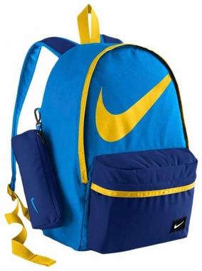 Рюкзак городской Nike Young Athletes Halfday Bt Blue/Yellow