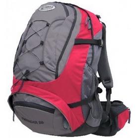 Рюкзак спортивный Terra Incognita FreeRider 28 л красный/серый
