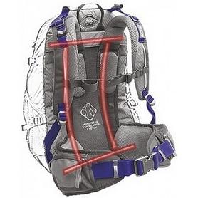 Фото 3 к товару Рюкзак спортивный Terra Incognita FreeRider 28 л красный/серый