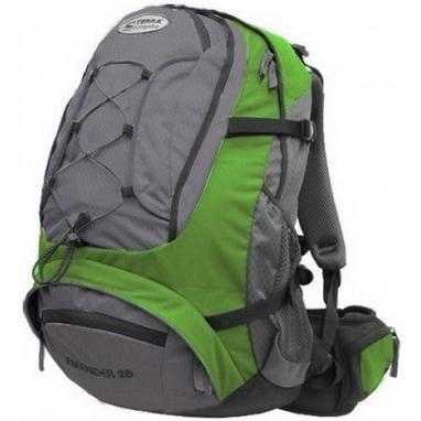 Рюкзак спортивный Terra Incognita FreeRider 28 л зеленый/серый