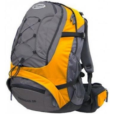 Рюкзак спортивный Terra Incognita FreeRider 28 л желтый/серый