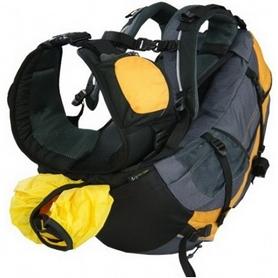 Фото 3 к товару Рюкзак спортивный Terra Incognita FreeRider 28 л желтый/серый