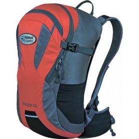 Рюкзак спортивный Terra Incognita Racer 12 л красный/серый