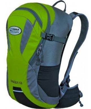 Рюкзак спортивный Terra Incognita Racer 18 л зеленый/серый