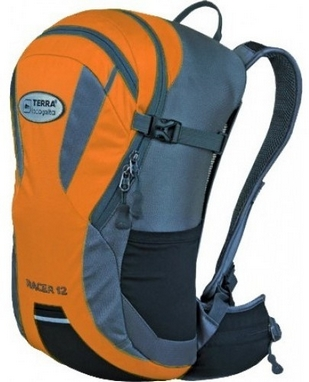 Рюкзак спортивный Terra Incognita Racer 18 л оранжевый/серый