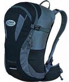 Рюкзак спортивный Terra Incognita Racer 18 л черный/серый
