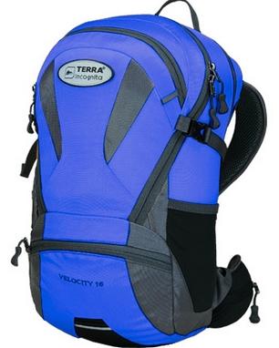 Рюкзак спортивный Terra Incognita Velocity 16 синий/серый