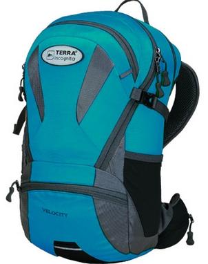 Рюкзак спортивный Terra Incognita Velocity 20 бирюзовый/серый