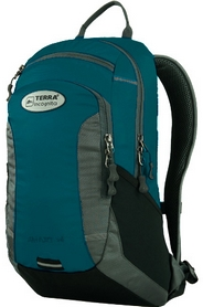 Рюкзак спортивный Terra Incognita Smart 14 бирюзовый/серый