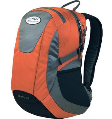 Рюкзак городской Terra Incognita Trace 22 оранжевый/серый