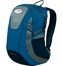 Рюкзак городской Terra Incognita Trace 22 синий/серый