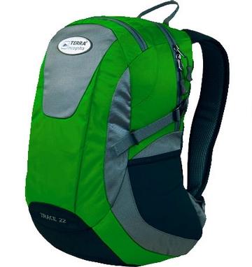 Рюкзак городской Terra Incognita Trace 28 зеленый/серый