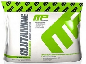 Фото 1 к товару Аминокомплекс MusclePharm Glutamine 35 г (7 порций)