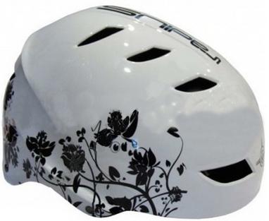 Велошлем RAD SP-025B белый