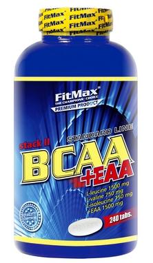 Аминокомплекс FitMax Amino BCAA Stak + EAA (240 талеток)
