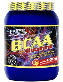 Фото 2 к товару Аминокомплекс FitMax BCAA+Glutamina (600 г)