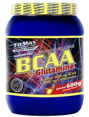 Аминокомплекс FitMax BCAA+Glutamina (600 г)