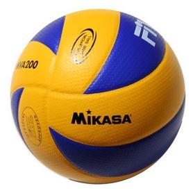 Фото 1 к товару Мяч волейбольный Mikasa MVA200 (реплика)