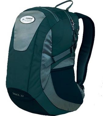 Рюкзак городской Terra Incognita Trace 28 бирюзовый/серый
