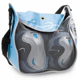 Фото 1 к товару Защита для катания на роликах (комплект) Rollerblade Lux 3 Pack W голубая, размер - L
