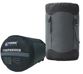 Компрессионный мешок Terra Incognita 50x28 черный/серый