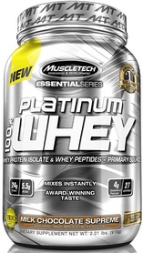 Фото 1 к товару Протеин Muscletech Essential 100% Whey (900 г)