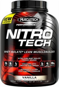 Фото 1 к товару Протеин Muscletech Nitro Tech Performance Seriess (1,8 кг)
