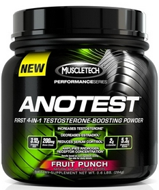 Фото 1 к товару Спецпрепарат Muscletech Anotest Performance Series (284 г)